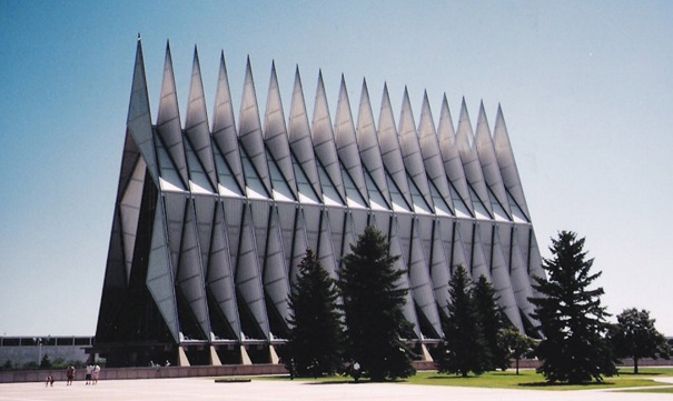Air Force Academy Chapel (Colorado, United States)