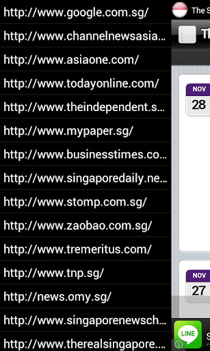 Singapore News Launcher