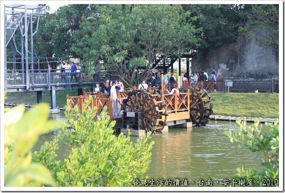 台南安平樹屋,水車