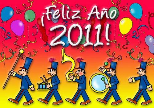 Feliz Año Nuevo en Gif