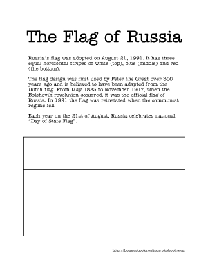 next week we will be continuing our time in russia and learning about the currency of russia making a meal studying the different geography features of - Russian Flag Coloring Page