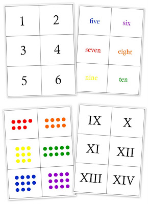 picture regarding Free Printable Number Cards 1-20 called Printable Variety Matching Playing cards