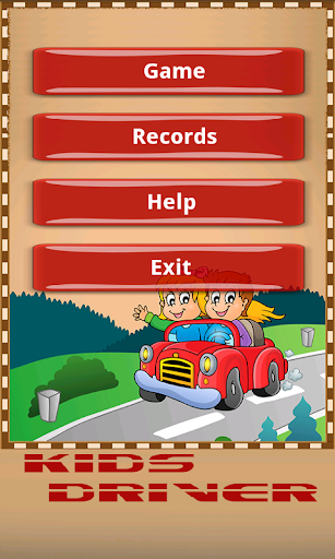 Kids Driver Car Racing Game