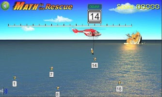 Screenshot of Math to the Rescue Game
