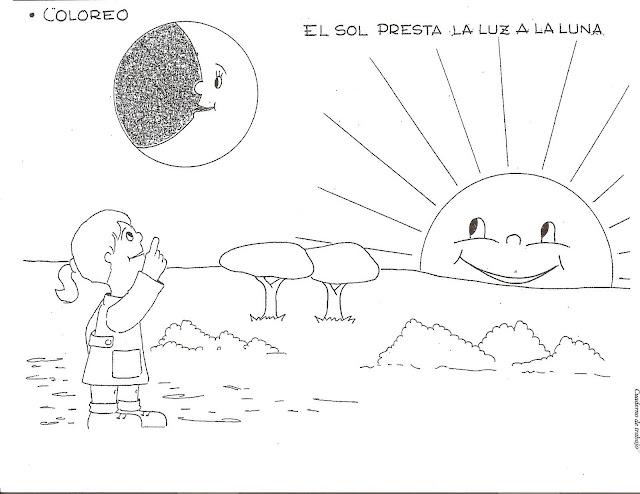 Dibujos Para Colorear Del Sistema Solar Para Ninos: SISTEMA SOLAR PARA NIÑOS COLOREAR SISTEMA SOLAR