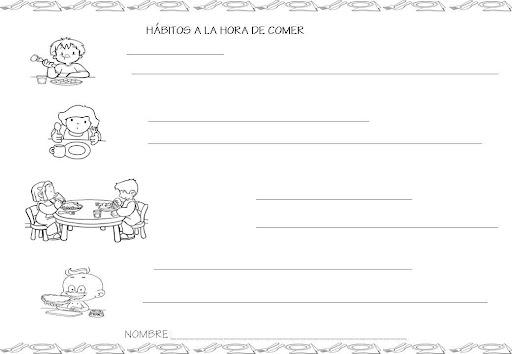 Fichas De Higiene Personal Para Niños Imagui