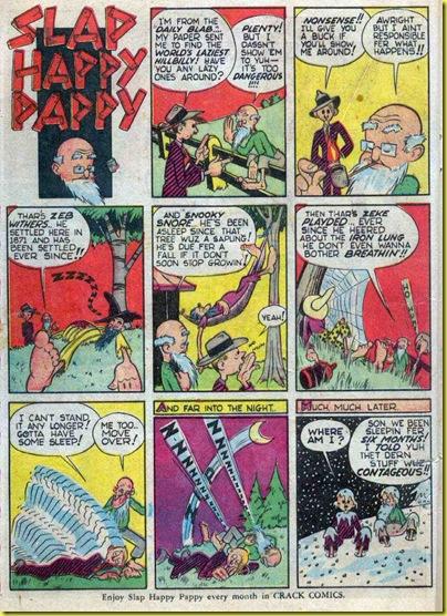 Cole S Comics Slap Happy Pappy A Selection