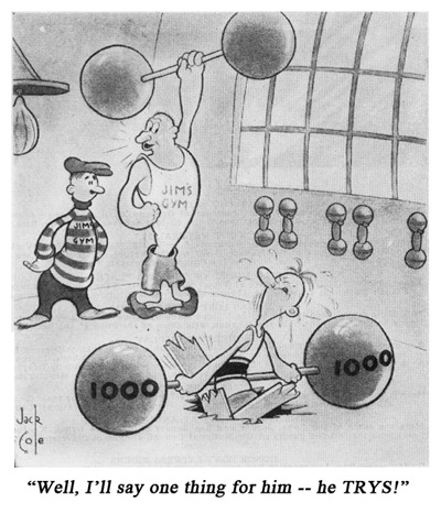 Jack Cole Cartoon Boys Life 1938 July