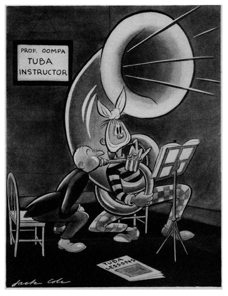 Jack Cole Cartoon Boys Life 1940 Oct