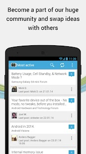 AndroidPIT: Apps, News, Forum - screenshot thumbnail