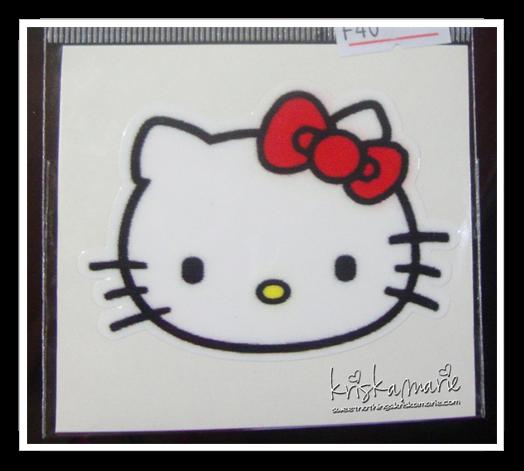 Maries Manor Hello Kitty: Hello Kitty Stickers