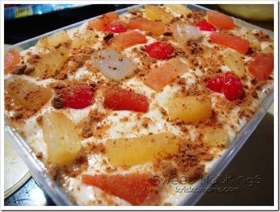 Kriska Cooks Graham Refrigerated Cake
