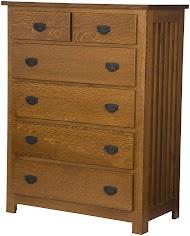 Mission Vertical Dresser