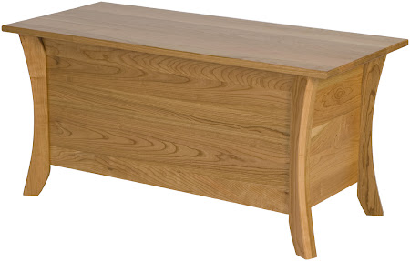 """36"""" wide x 18"""" high x 16"""" deep Kyoto Chest in Natural Cherry"""
