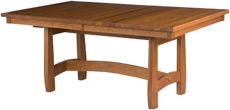 "70"" x 42"" Montreal Table in Autumn Oak"