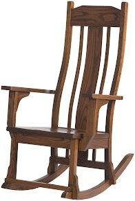 Plains Mission Rocking Chair