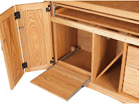 Maple Armoire Desks