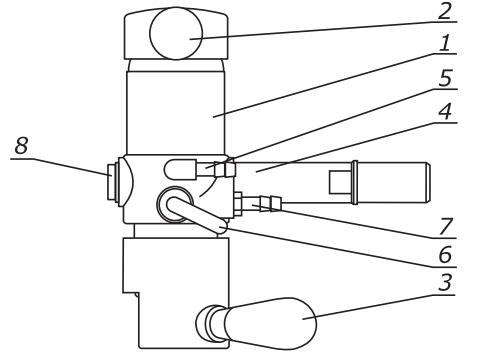 схема устройства Пегас пивного