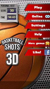 Basketball Shots 3D (2010) - screenshot thumbnail