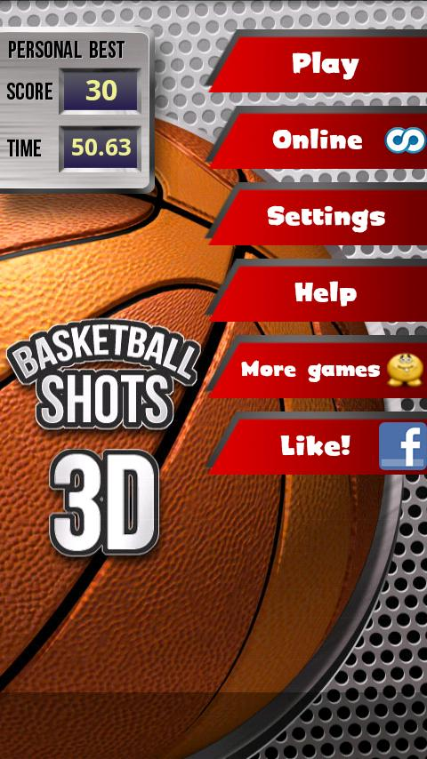 Basketball Shots 3D (2010) - screenshot