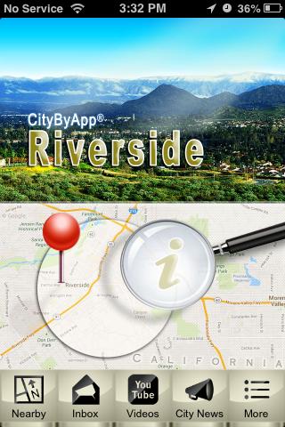 CityByApp® Riverside! - screenshot