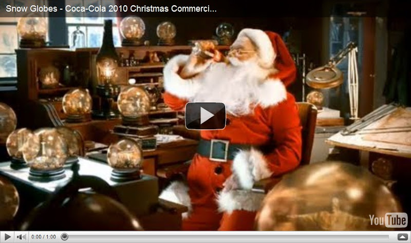 news from italy coca cola christmas commercial 2010. Black Bedroom Furniture Sets. Home Design Ideas