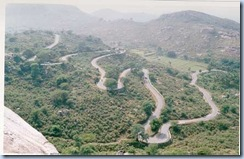 yelagiri hairpin bend