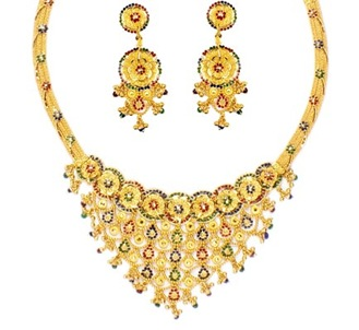 prince Jewelery Neckless set
