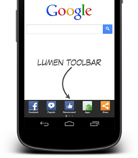 Lumen Toolbar- screenshot thumbnail