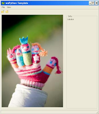 随手集 信手写: wxpython 总结例子和 wxpython+opencv 框架