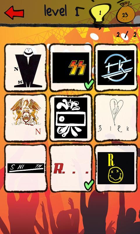 Band Logos Quiz- screenshot