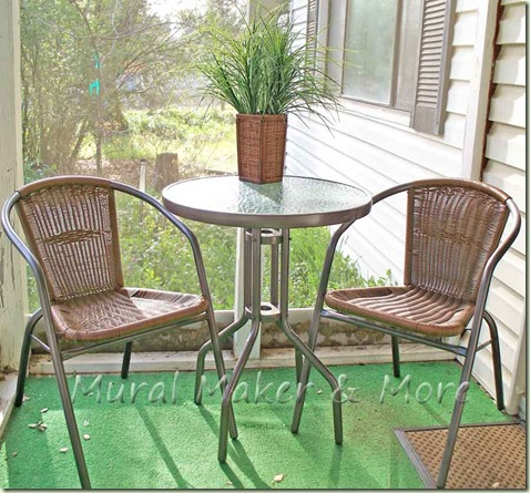 Paint Outdoor Table 14