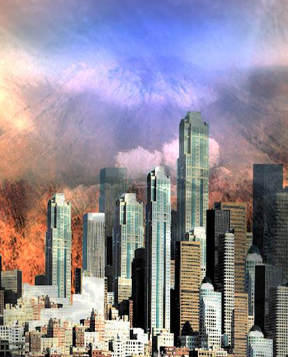Fotos Gratis Artísticas - La ciudad emigrante