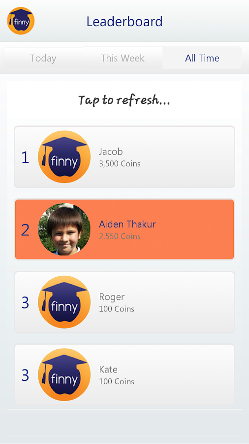 Finny - screenshot