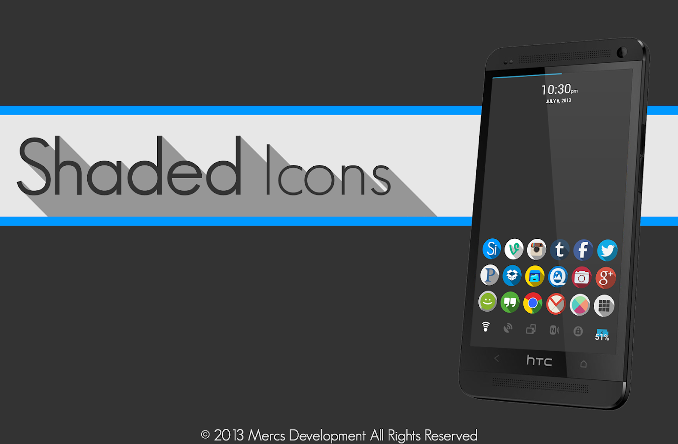Shaded Icons - screenshot