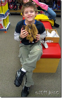 first baseball mitt baseball glove