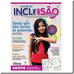 Capa da revista Ciranda da Inclusão