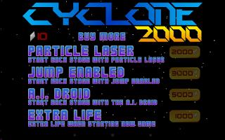 Screenshot of Cyclone 2000