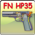 The FN HP pistol explained icon