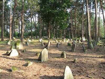 Stara część cmentarza