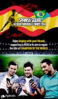 Screenshot of Chants Spain 2014