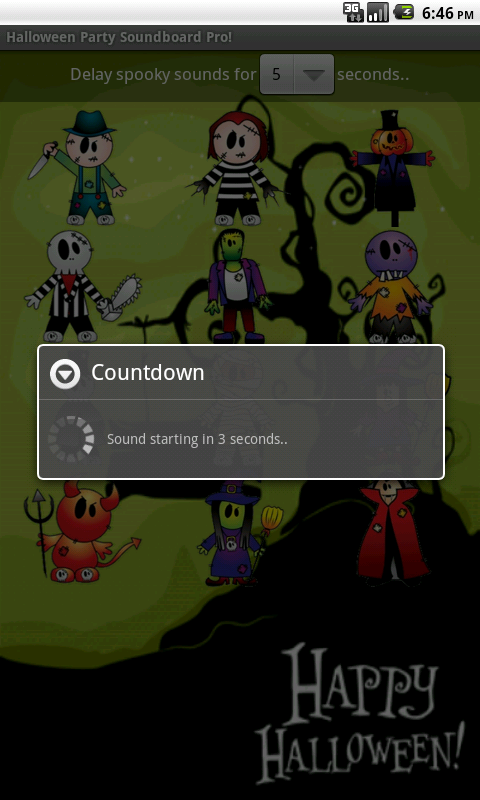 Halloween Party Soundboard Pro- screenshot
