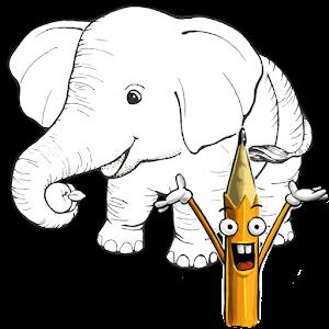 如何繪製:野生動物 教育 LOGO-玩APPs