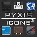 Pyxis Icons ADW/LPP Theme logo