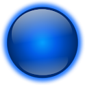 Blue Sphere Go Launcher Theme