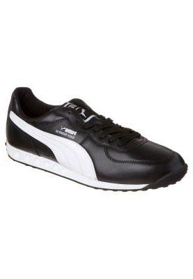 eda54792b06d62 ... schwarzer Sneaker aus hochwertigem Leder und Textil von Puma!  rutschfeste Sohle 7-Loch Schnürrung Decksohle  Textil Innenmaterial   Textilfutter