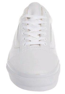 Vans OLD SKOOL BCrer Schn blanc pur:Chaussures sandale