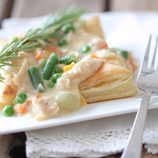 Inside Out Chicken Pot Pies.