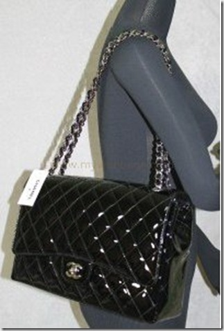 mychanelbags  2010 Chanel Patent Maxi Flap Bag 35f4528911