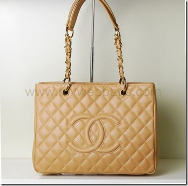 5796303dbf1e81 Chanel Bag A20995 in Apricot Caviar with Gold Hardware